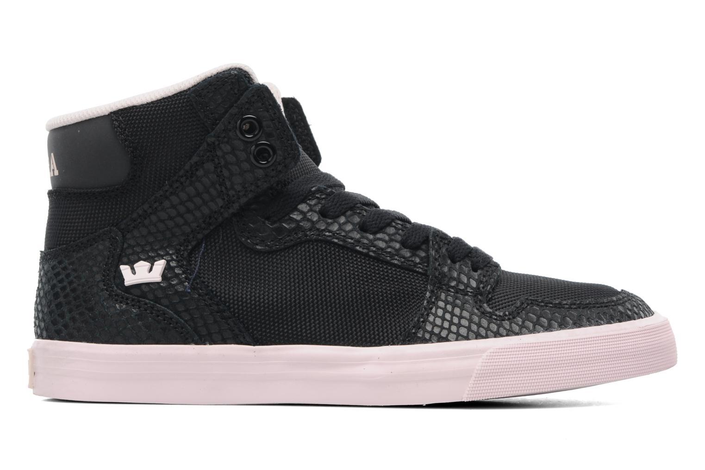 Sneaker Supra Vaider w schwarz ansicht von hinten