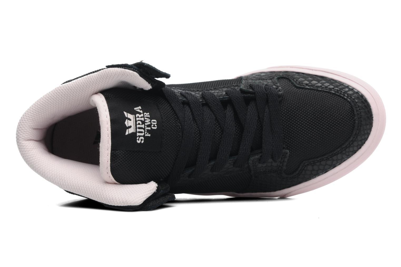 Sneaker Supra Vaider w schwarz ansicht von links