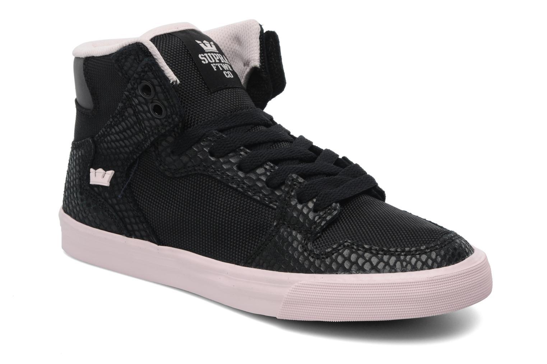 Sneaker Supra Vaider w schwarz detaillierte ansicht/modell