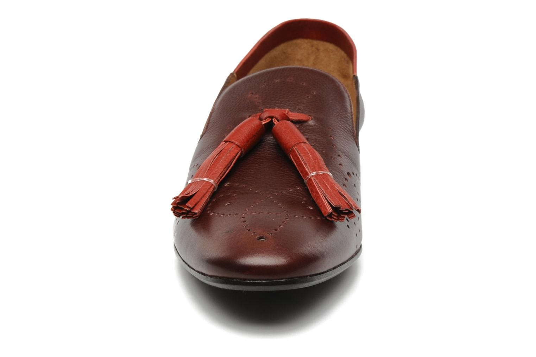 Mocassins Fratelli Rossetti Winter Hobo pompon Bordeaux vue portées chaussures
