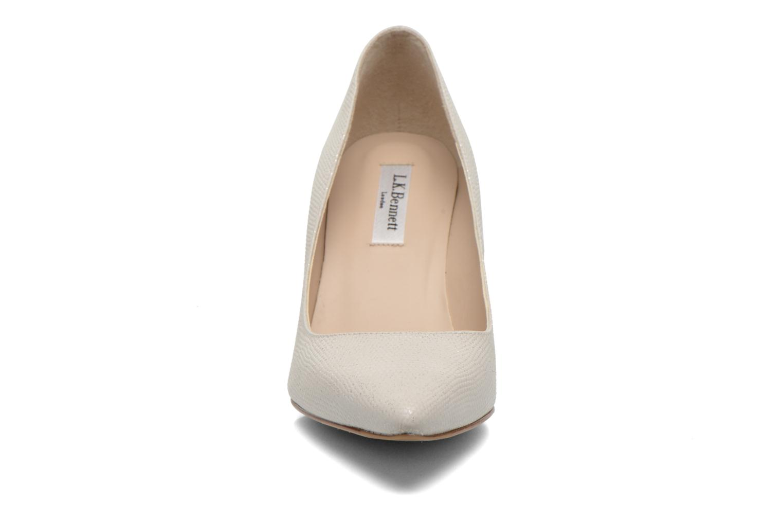Escarpins L.K. Bennett Floret Blanc vue portées chaussures