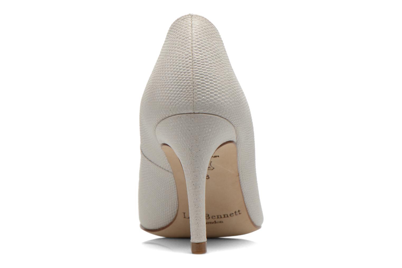 Zapatos de tacón L.K. Bennett Floret Blanco vista lateral derecha