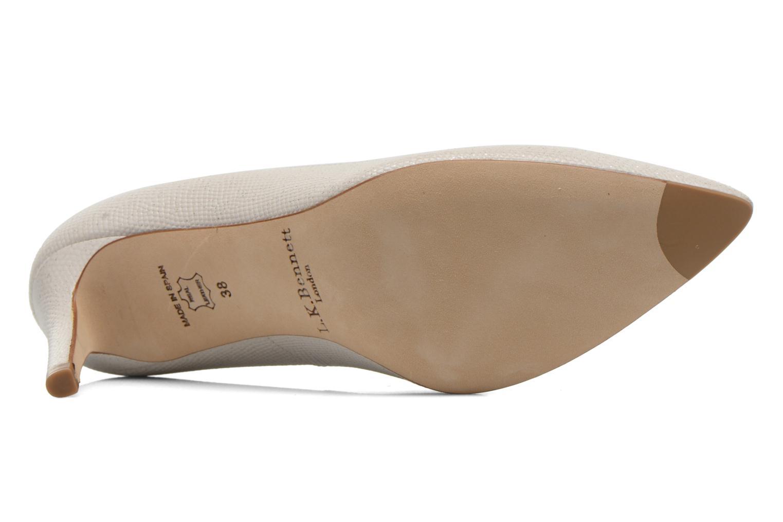 Zapatos de tacón L.K. Bennett Floret Blanco vista de arriba
