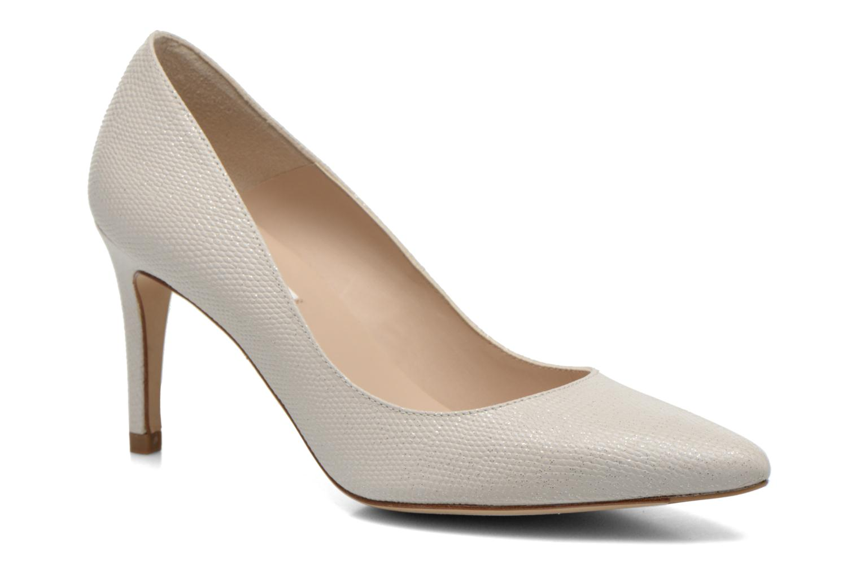 Høje hæle L.K. Bennett Floret Hvid detaljeret billede af skoene