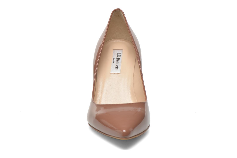 Escarpins L.K. Bennett Floret Marron vue portées chaussures
