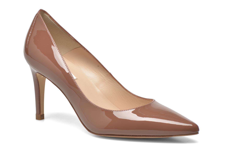 Høje hæle L.K. Bennett Floret Brun detaljeret billede af skoene