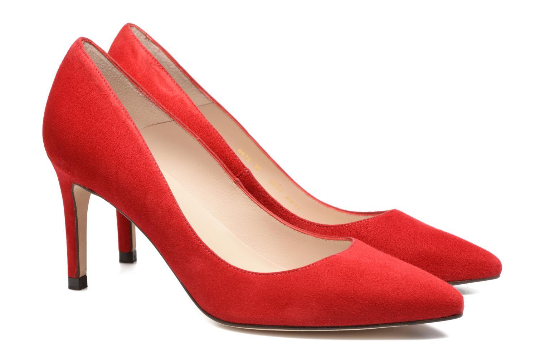 High heels L.K. Bennett Floret Red 3/4 view