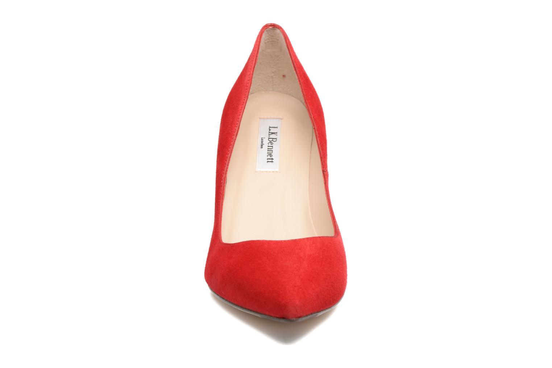 Escarpins L.K. Bennett Floret Rouge vue portées chaussures