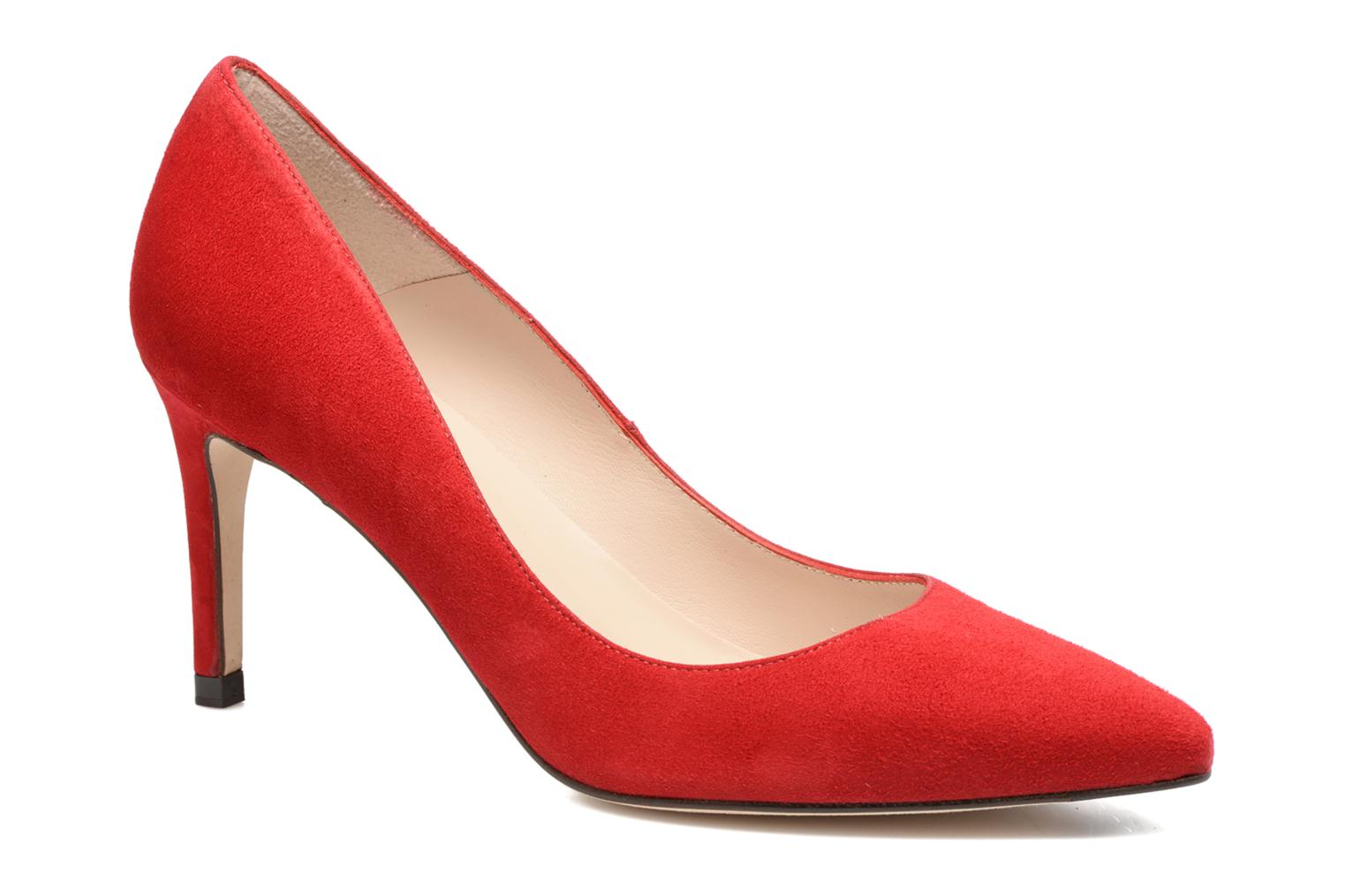 Floret Red Rocca Red Suede