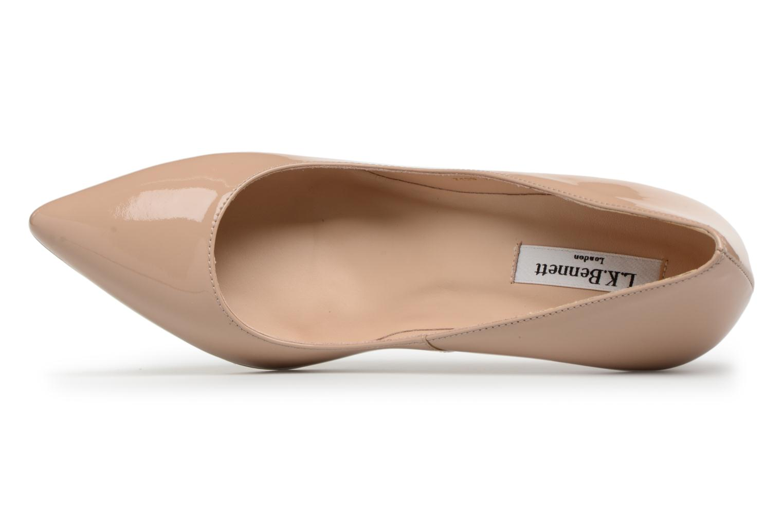Zapatos de tacón L.K. Bennett Floret Beige vista lateral izquierda
