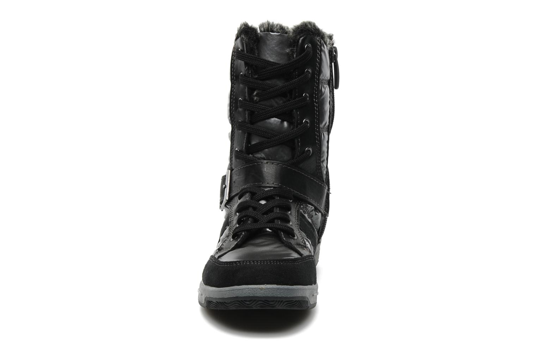 Bottes I Love Shoes Eperon Gris vue portées chaussures