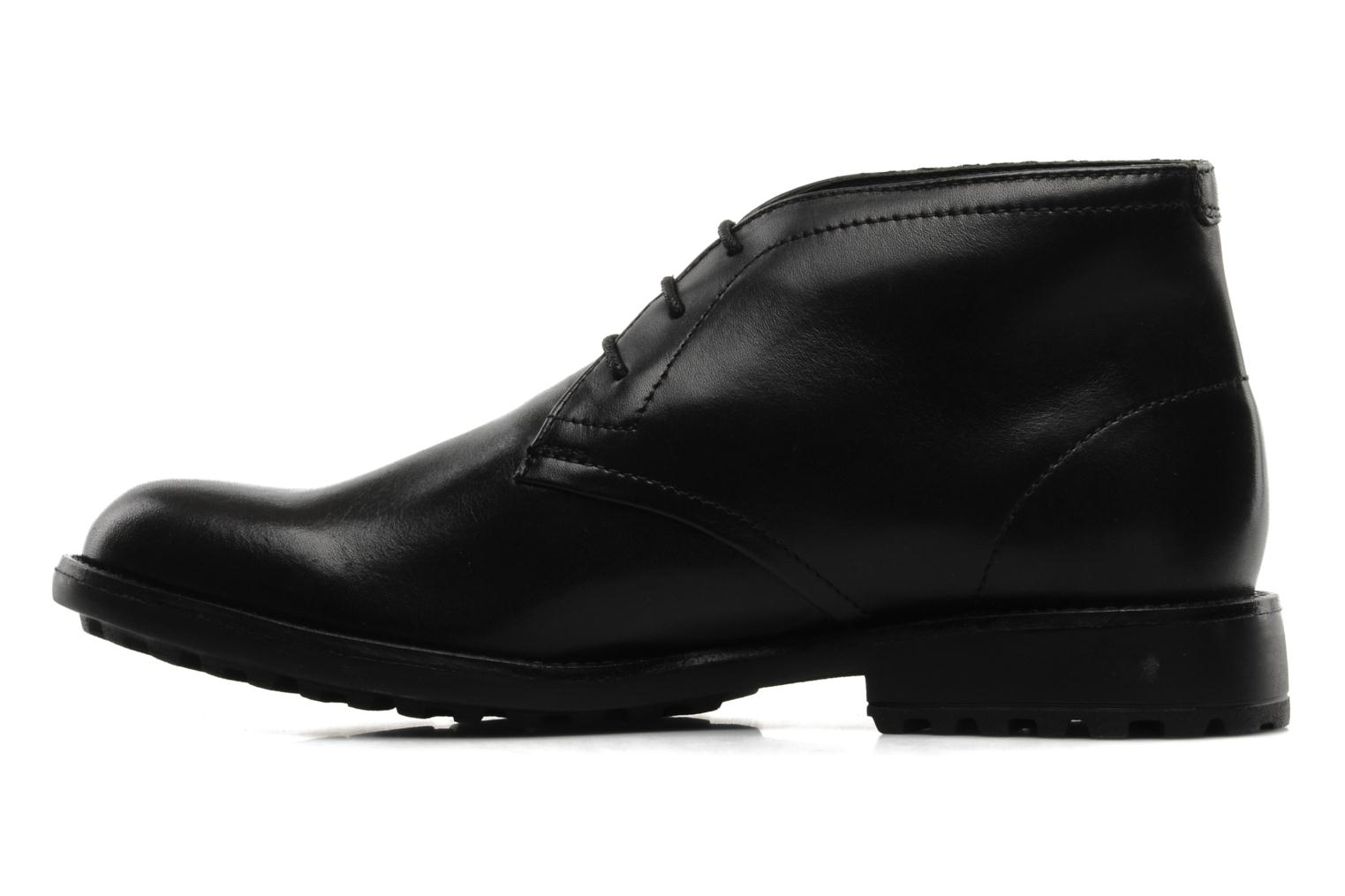 Lace-up shoes Clarks GlenmoreHi GTX Black front view