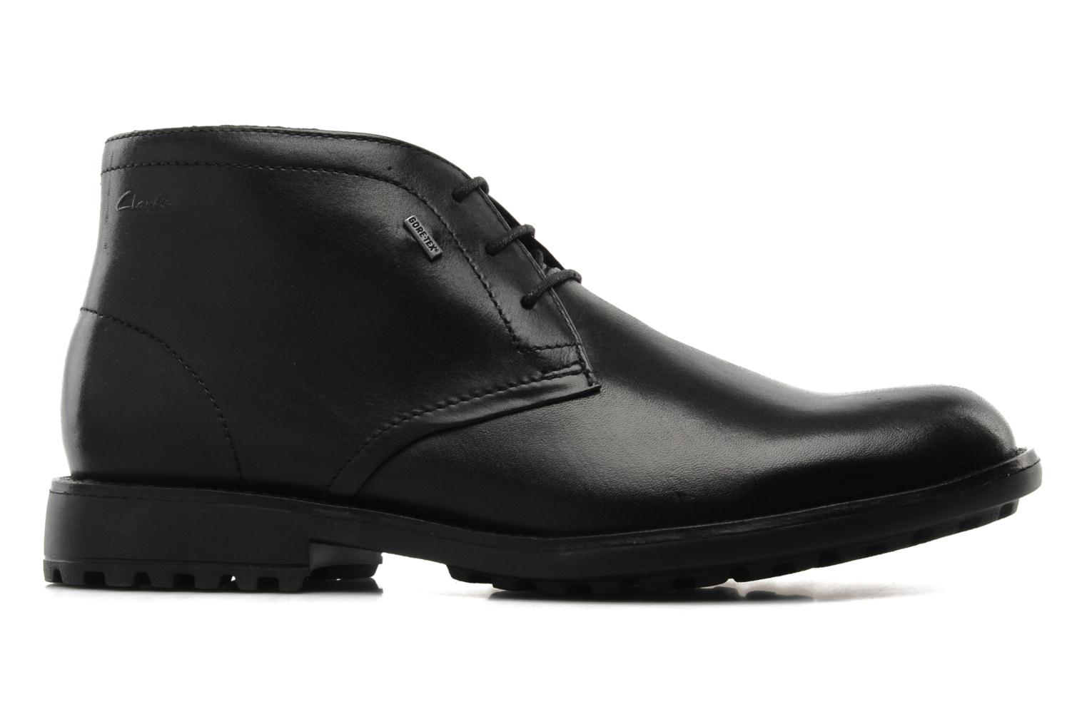 Lace-up shoes Clarks GlenmoreHi GTX Black back view