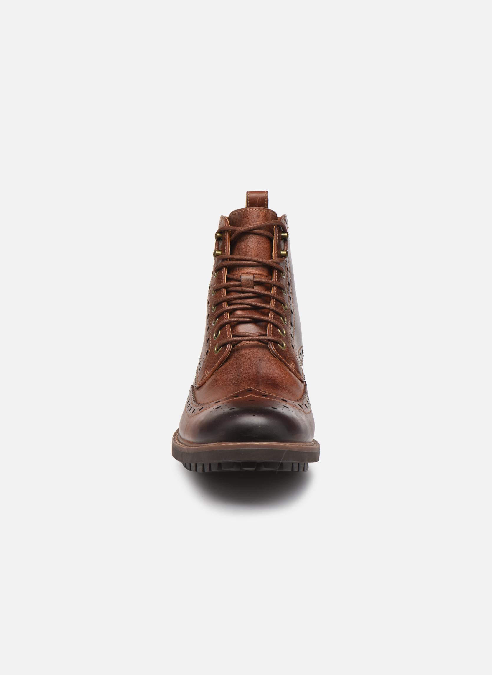 Boots en enkellaarsjes Clarks Montacute Lord Bruin model