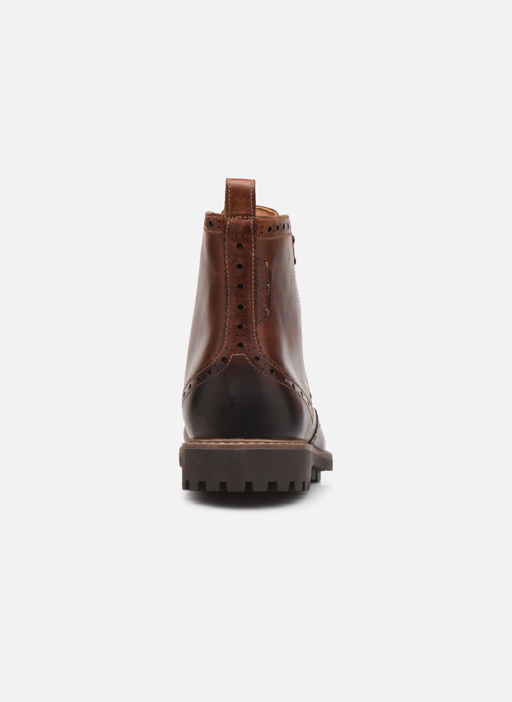 Boots en enkellaarsjes Clarks Montacute Lord Bruin rechts