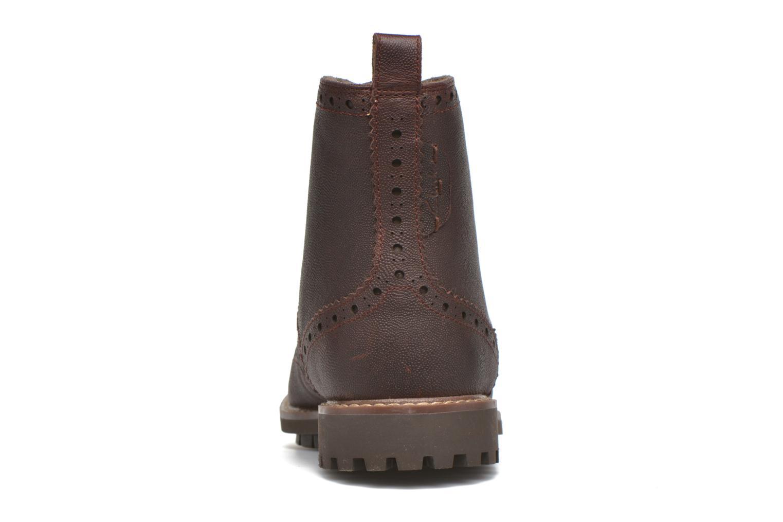 Bottines et boots Clarks Montacute Lord Marron vue droite