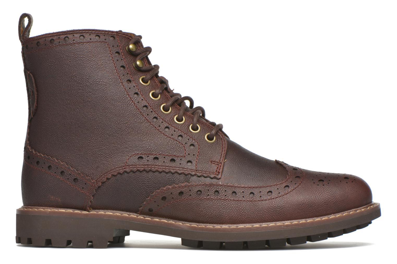 Boots en enkellaarsjes Clarks Montacute Lord Bruin achterkant