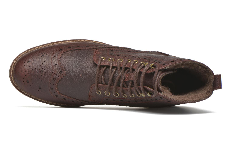Boots en enkellaarsjes Clarks Montacute Lord Bruin links