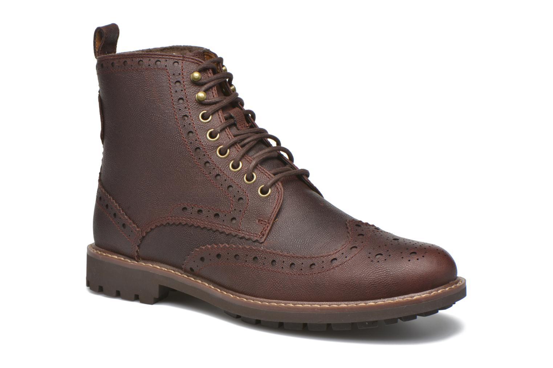 Bottines et boots Clarks Montacute Lord Marron vue détail/paire