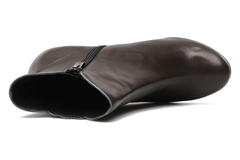 Boots en enkellaarsjes Bocage Ikeio Bruin links