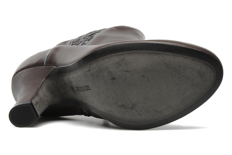 Bottines et boots Bocage Ikeio Marron vue haut