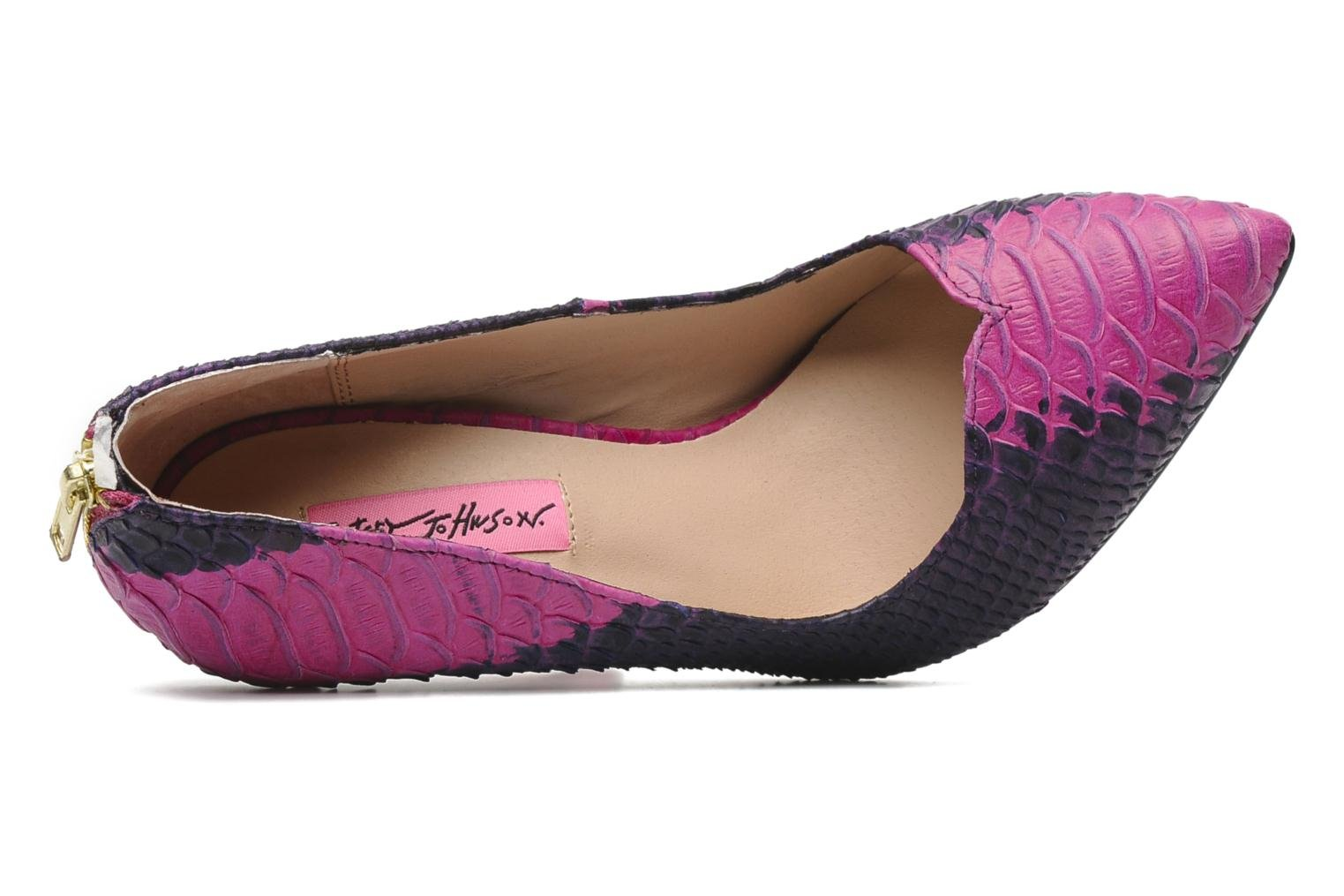 High heels Betsey Johnson TAYLR Pink view from the left