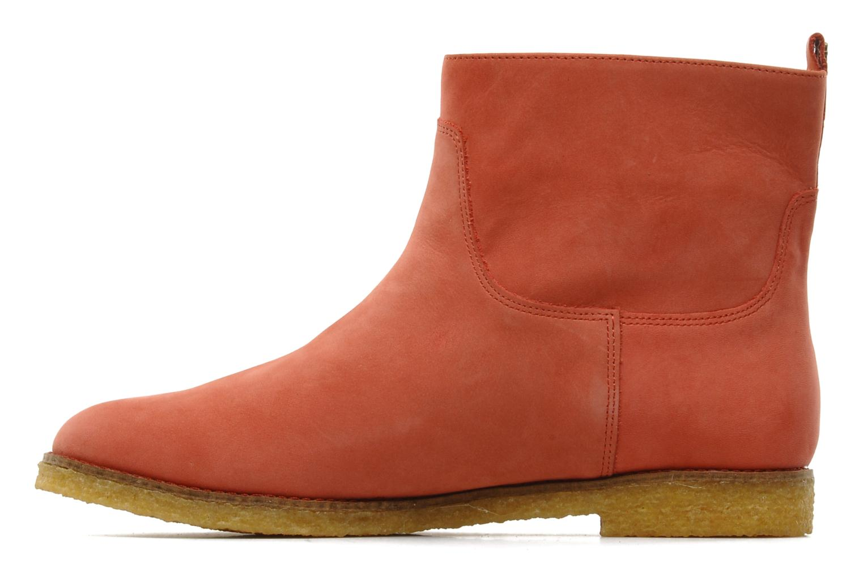 Ankle boots Flipflop CABALLO Orange front view