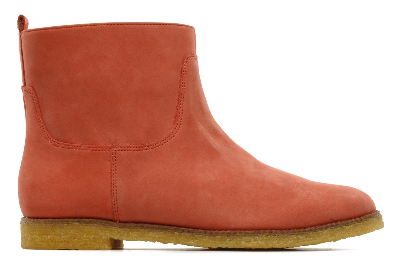 Ankle boots Flipflop CABALLO Orange back view