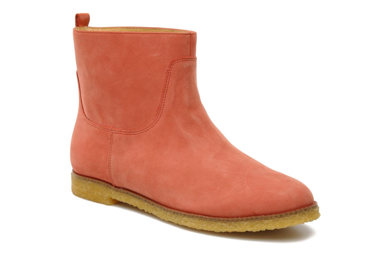 Ankle boots Flipflop CABALLO Orange detailed view/ Pair view