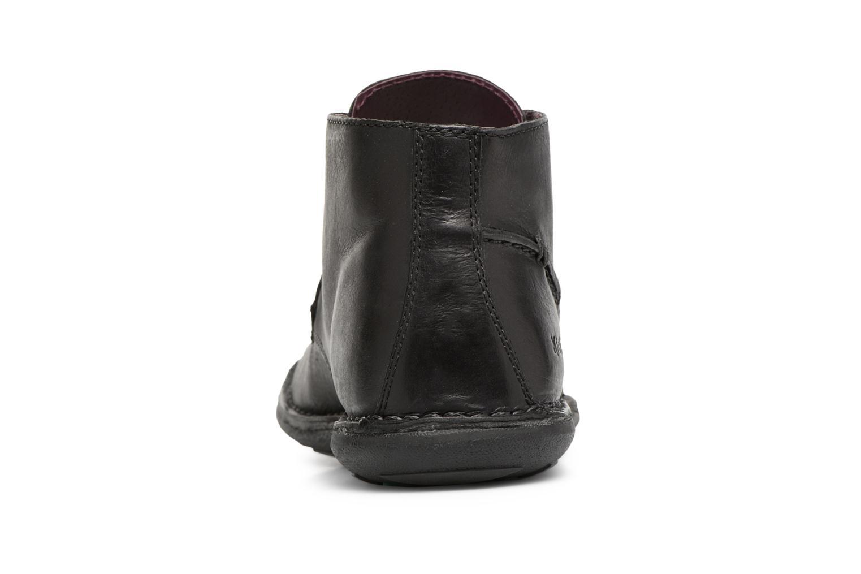 Chaussures à lacets Kickers SWIBO Noir vue droite