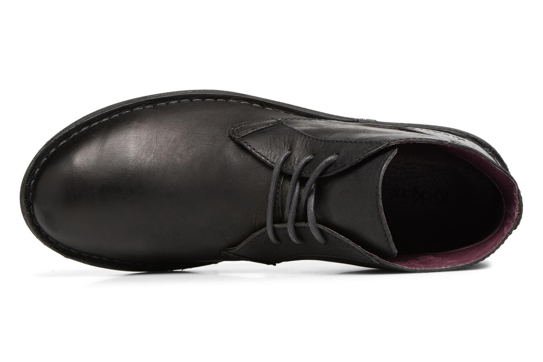Chaussures à lacets Kickers SWIBO Noir vue gauche