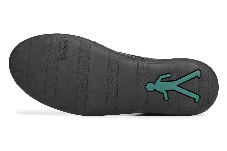 Chaussures à lacets Kickers SWIBO Noir vue haut