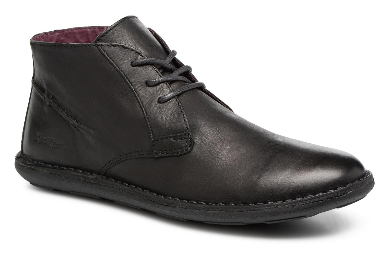 Chaussures à lacets Kickers SWIBO Noir vue détail/paire