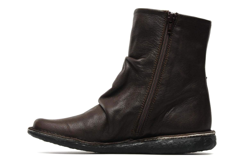 Bottines et boots Kickers KRAKOV Marron vue face
