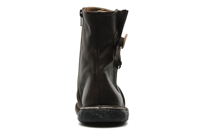 Bottines et boots Kickers KRAKOV Marron vue droite