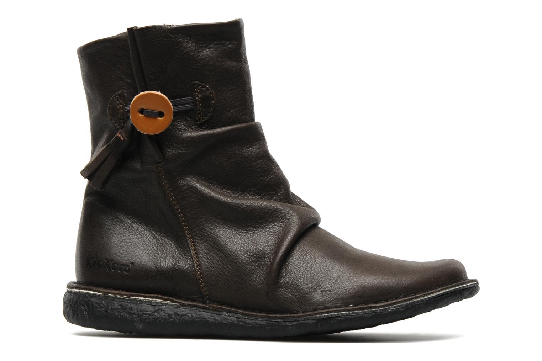 Bottines et boots Kickers KRAKOV Marron vue derrière