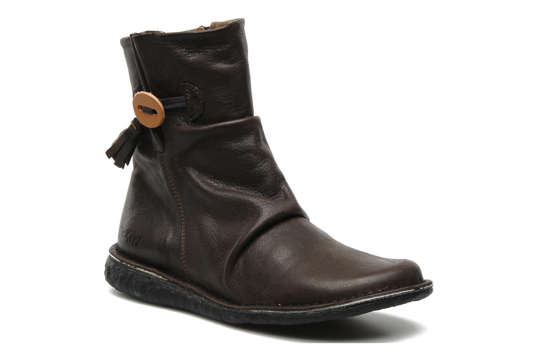 Bottines et boots Kickers KRAKOV Marron vue détail/paire