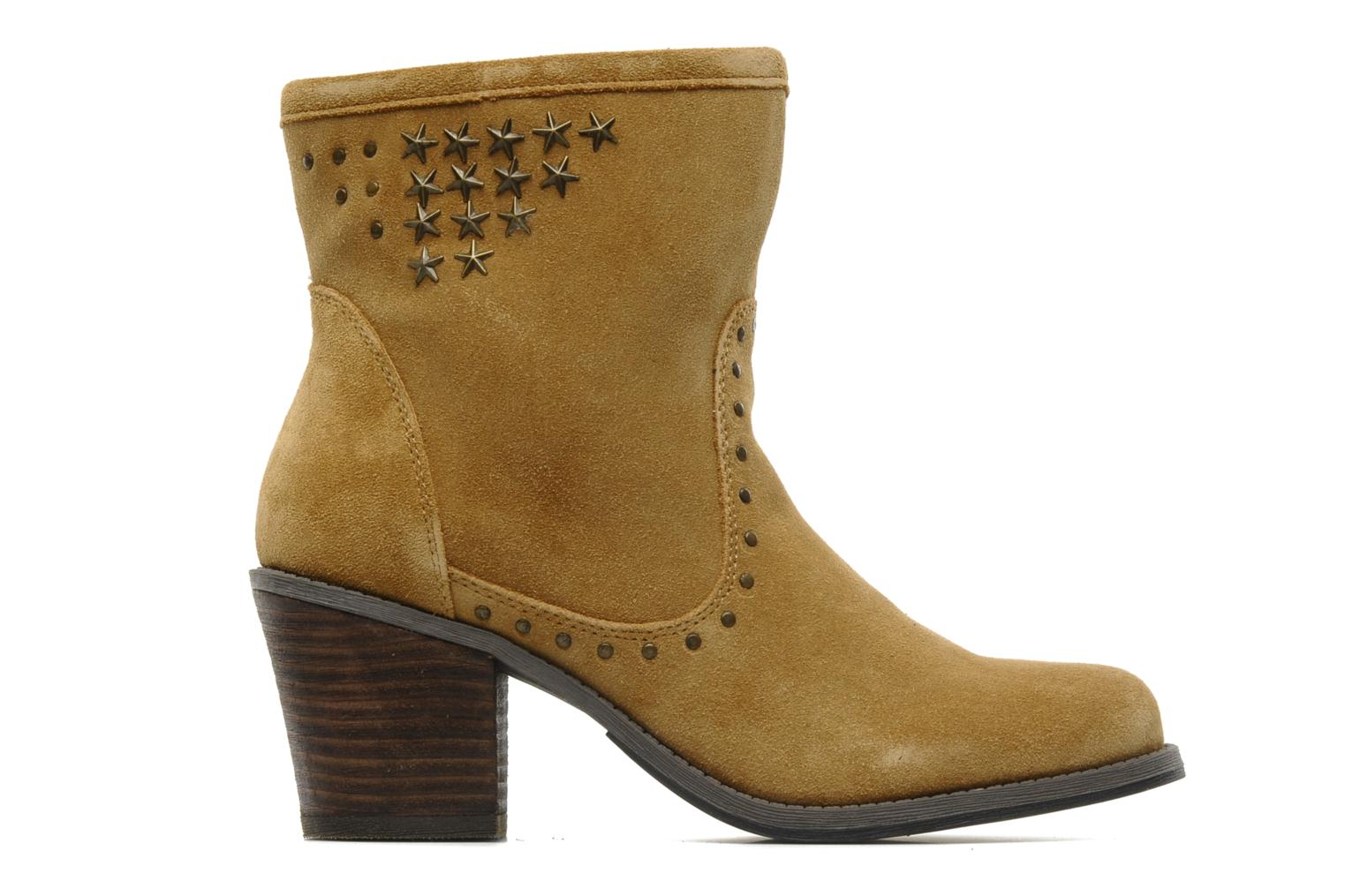 Ankle boots Derhy Calify Beige back view