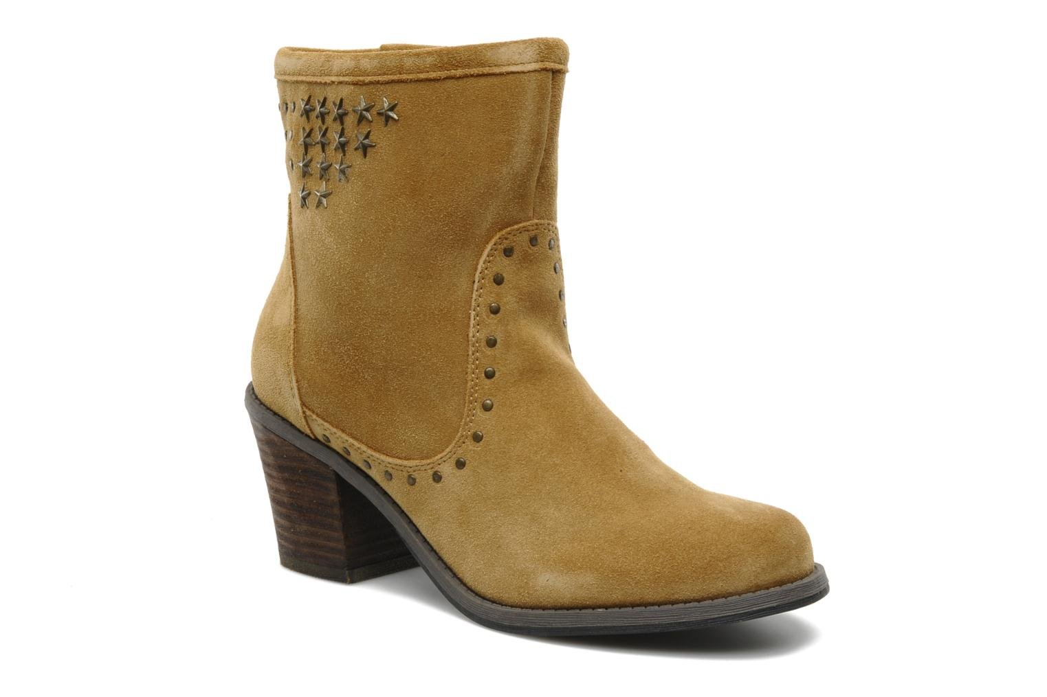 Ankle boots Derhy Calify Beige detailed view/ Pair view