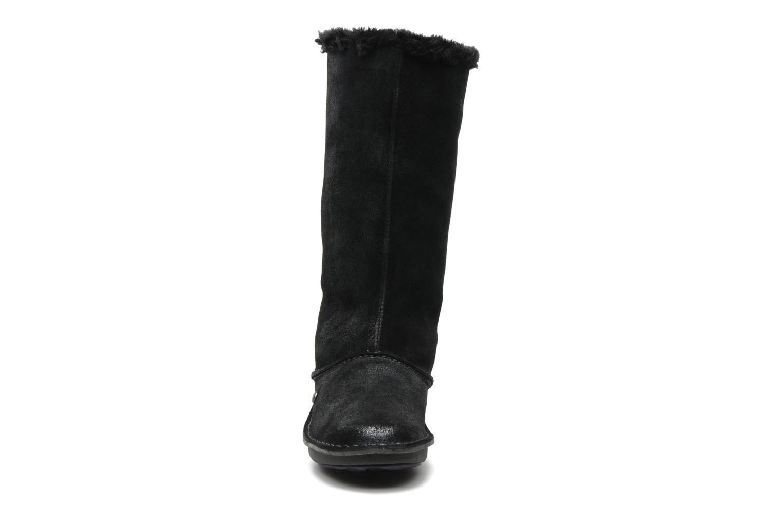 Bottines et boots Hush Puppies SACHEM Noir vue portées chaussures