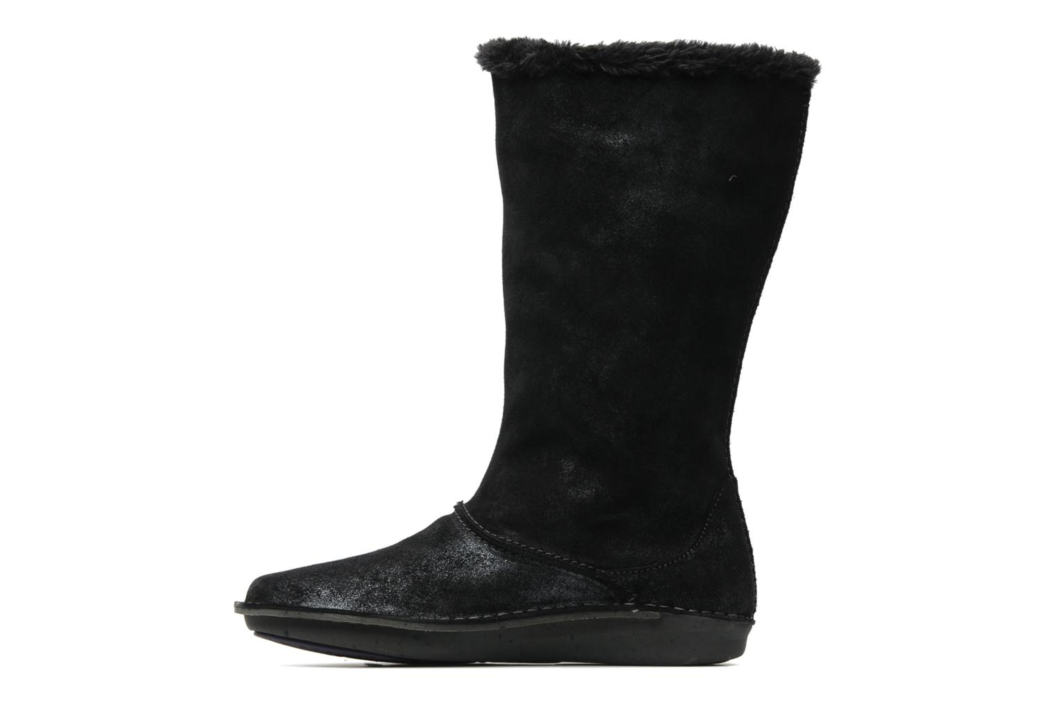 Ankle boots Hush Puppies SACHEM Black front view