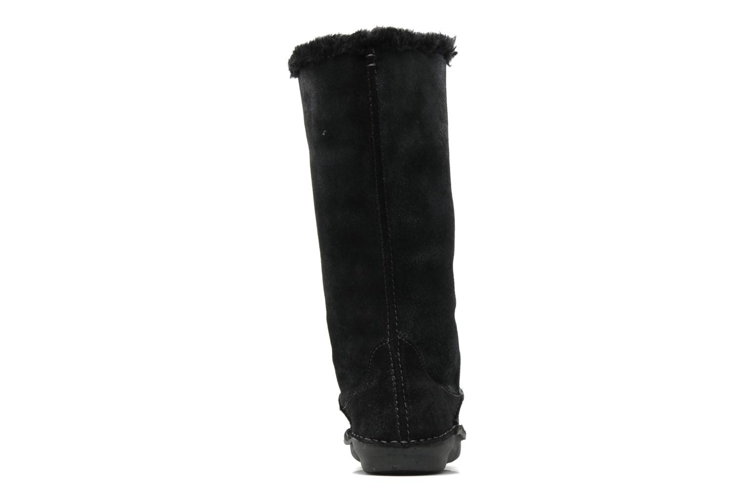 Ankle boots Hush Puppies SACHEM Black view from the right
