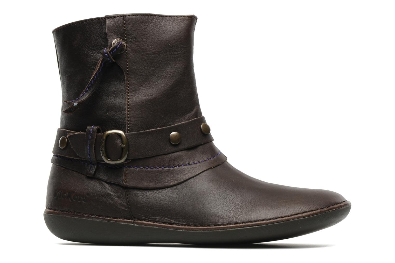 Bottines et boots Kickers EXTENDED Marron vue derrière