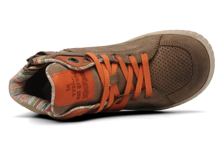 Sneakers Kickers Wincut Bruin links