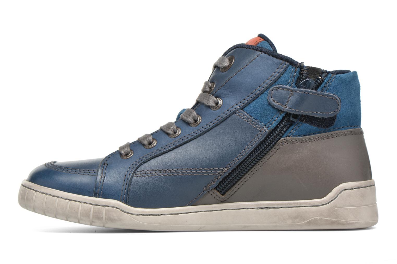 Baskets Kickers Wincut Bleu vue face