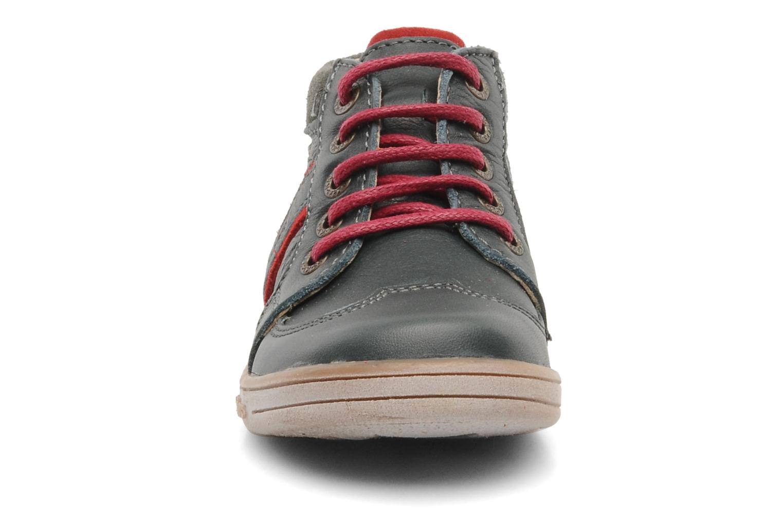 Bottines et boots Kickers TRANSISTOR Gris vue portées chaussures