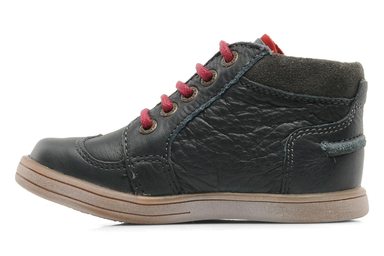 Boots en enkellaarsjes Kickers TRANSISTOR Grijs voorkant