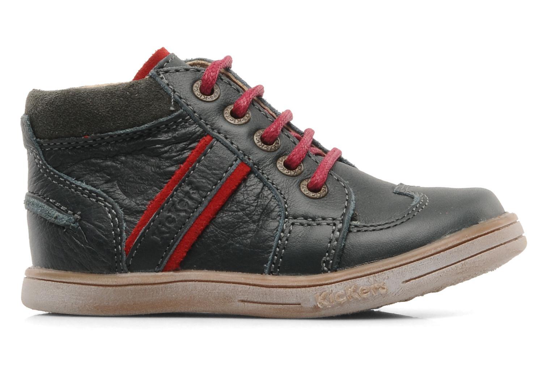 Boots en enkellaarsjes Kickers TRANSISTOR Grijs achterkant