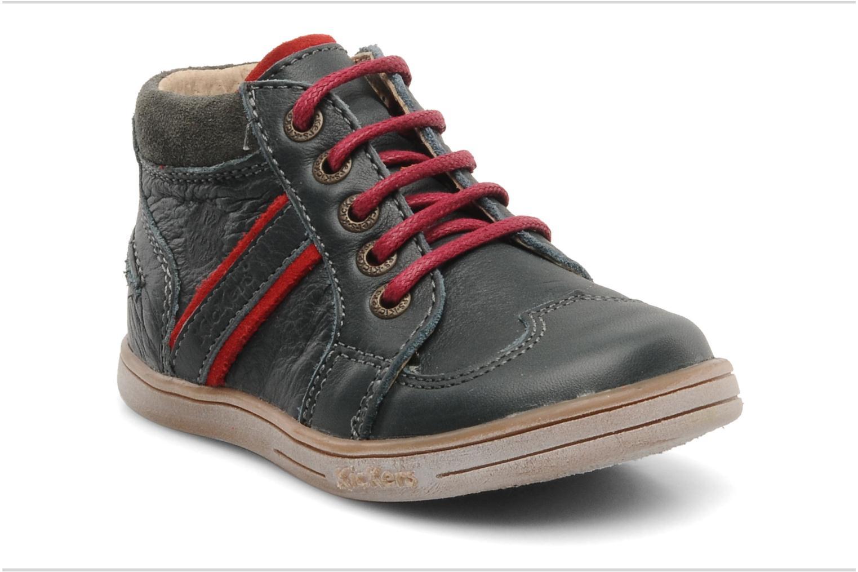 Bottines et boots Kickers TRANSISTOR Gris vue détail/paire
