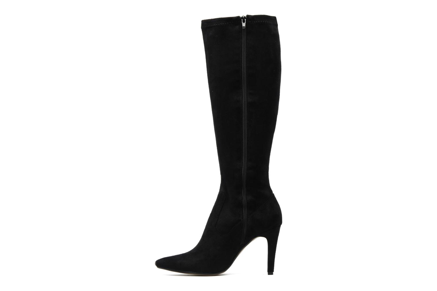 Boots & wellies Georgia Rose Hupana stretch Black front view